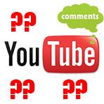 youtube komentování